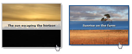 Snazzy Hover Effects Using CSS3   image gallery,css3,image hover