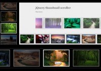 thumbnail scroller with jquery
