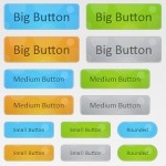 Animated Bubble Buttons CSS3