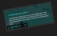 jQuery cool hover Slide Effect