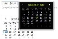 mootools Vista-like Ajax Calendar version