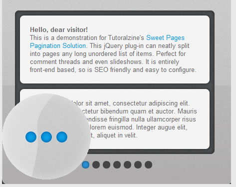 Sweet Pages: A jQuery Pagination Solution