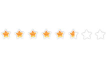 Jquery 100-point rating system  with beautiful stars