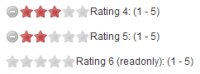 jQuery Star Rating Plugin