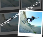 awsesome images gallery using css3 and jquery