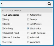 Search Box with Filter(jQuery)