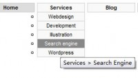 DropDown CSS Menu