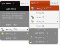 multilevel tree menu jQuery