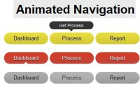 Animated Navigation Menu From Stratch jQuery
