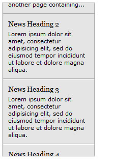 JQuery Rolling News