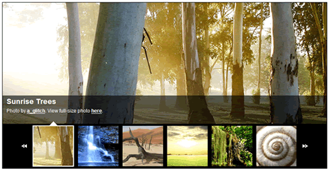 GalleryView: A jQuery Content Gallery Plugin