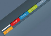 CSS and jQuery Cool Animated Navigation