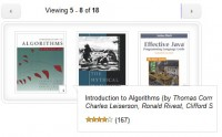 Amazon Books Widget with jQuery and XML Image Scroller