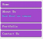 Bounce out Vertical menu with jQuery CSS3