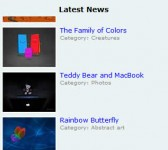Vertical Scrolling News Ticker With jQuery jCarouse