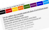Fade colors using jQuery