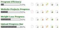 jsProgressBarHandler (Dynamic Unobtrusive Javascript Progress/Percentage Bar)