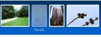 CSS3 and jQuery Horizontal images Scrolling Menu