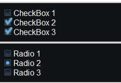 jQuery UI: Radiobutton- und Checkbox-Replacement