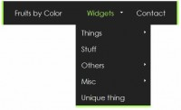 jQuery SooperFish Multi-Column Animated Drop-down
