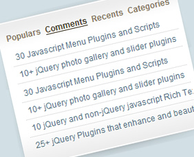 jQuery Sliding Tab Menu for Sidebar