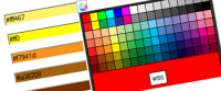 iColorPicker jQuery plugin - The Easiest Color Picker Ever!