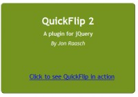 QuickFlip 2: The jQuery Flipping Plugin