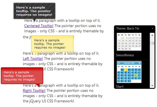 Image-free Tooltip Pointers jQuery - A Use for Polygonal CSS