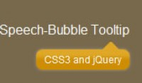 using jQuery and CSS3 a Speech Bubble Tooltips