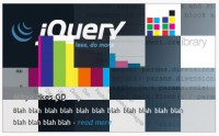 Blockster Images transition effect jQuery