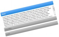 Accordion Menu mit Slide-Effekt im Apple-Style CSS3