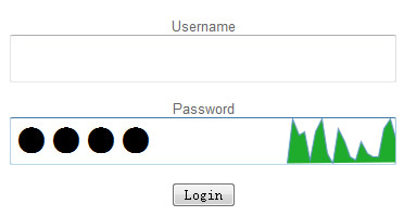 Experiment in Password Masking