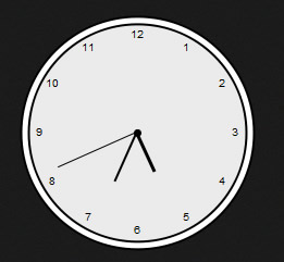 Animation Clock With jquery