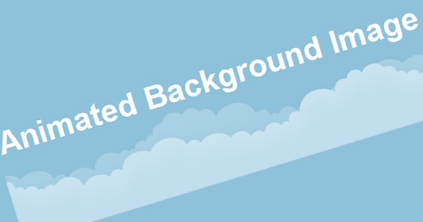 Animated background image with jQuery