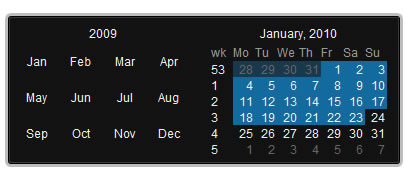 Date Picker - jQuery plugin