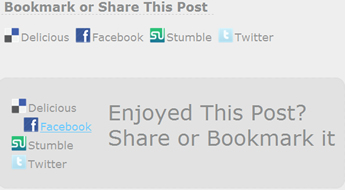 jQuery Awesome Social Media Share Menu