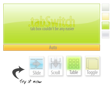 Awesome jQuery tabSwitch slideshow