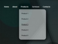 Pure CSS3 Beatiful Drop Down Menu