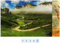 Pure CSS3 Image Slider effect