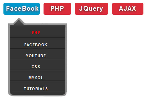 JQuery animation Drop Down Menus
