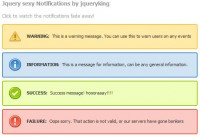jquery beautiful notification boxes