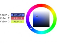 Multiple jQuery color picker plugin