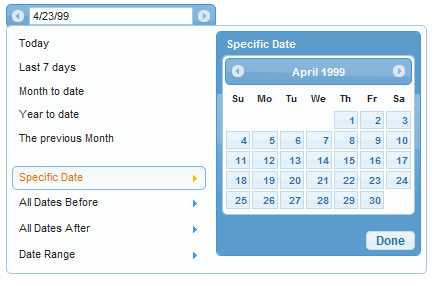 Nice Date Picker with jQuery UI Framework | date picker