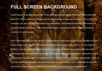 Nice  jquery  full background image slider