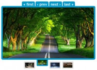 awesome JQuery  Images Slideshow