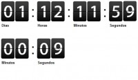Cool countdown with jquery