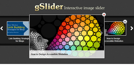jQuery Lightweight, Versatile and Interactive Image Slider