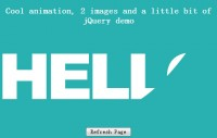 Cool animation with jQuery