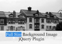 jQuery With the window size change the Full Size Background