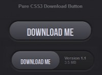 pure CSS3 download button